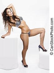 Sexy girl in a bikini