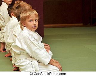 Aikido, niños