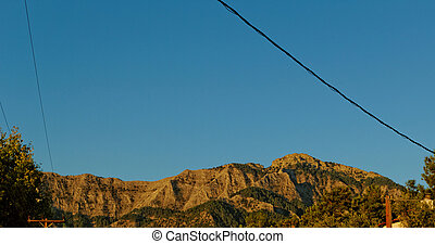 Thassos, Panagia - Photo of a big mountain in Thassos,...