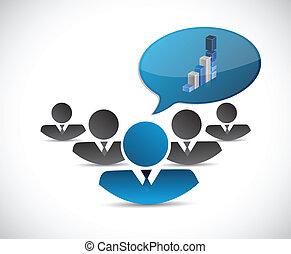 teamwork business concept illustration design