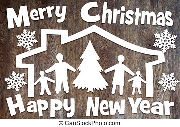 Concept of Christmas and New Year holidays