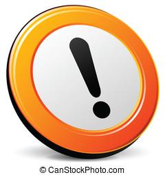 Vectore attention icon