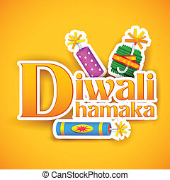 Diwali Offer for promotion and advertisment - illustration...