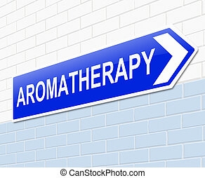 Aromatherapy concept.