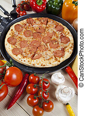 Pizza de luxe - Fresh Pizza and italian kitchen