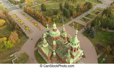 Flying over the Orthodox Church