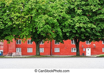 The storehouse in Kastellet, Copenhagen. - The storehouse in...