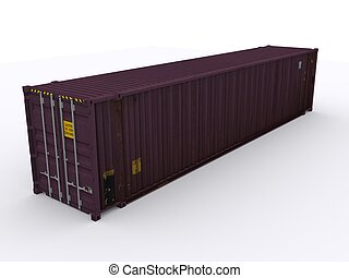 45ft shipping container