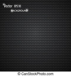 Vector carbon metallic seamless pattern design background...