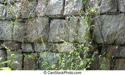 Stone Wall, Rock, Structure