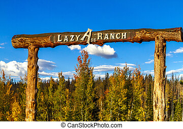 Fall in Steamboat Springs Colorado - Colorado Lazy Ass Ranch...