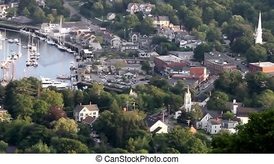 Maine small town time lapse