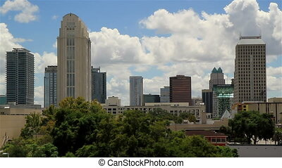 Orlando FL City skyline Shot Four - Orlando FL USA City...