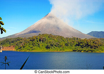 Costa,  Arenal, volcán,  Rica