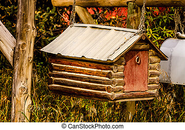 Fall in Steamboat Springs Colorado - Cute ranch mailbox in...