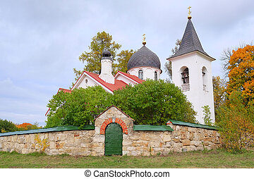 Little church in Polenovo near Moscow, Russia