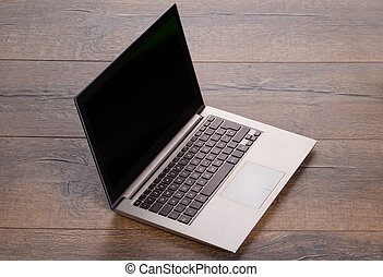 Ultra portable laptop - Photo of ultra portable laptop on...