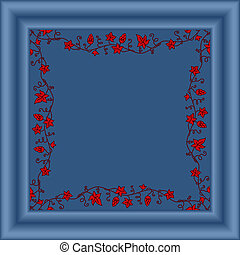 Vector picture frame/
