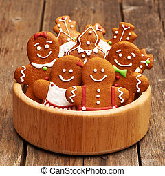 Christmas gingerbread cookies - Christmas homemade...