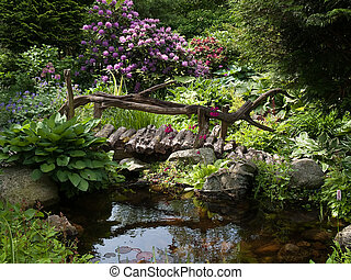 Beautiful perfect garden landscape - Beautiful perfect...
