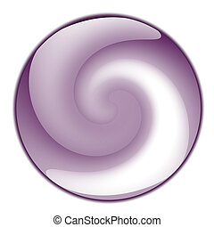 button with swirl