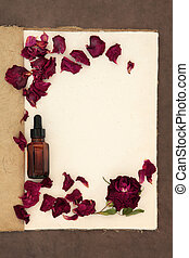 Rose Flower Aromatherapy