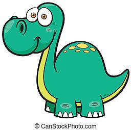 Dinosaur - Vector illustration of Dinosaur