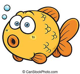 Goldfish - Vector illustration of Goldfish