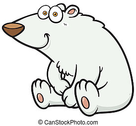 Polar Bear - Vector illustration of Polar Bear