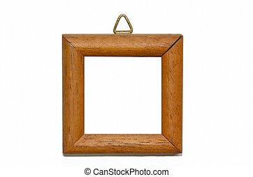wooden frame - a wooden frame