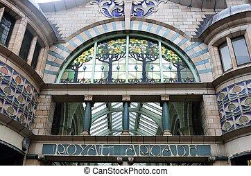 Old Arcade - Royal Arcade Norwich
