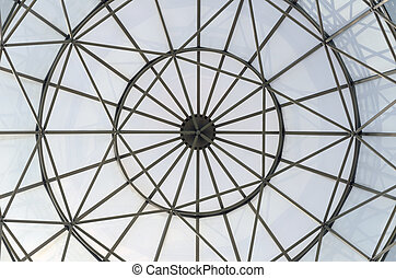 glass window dome
