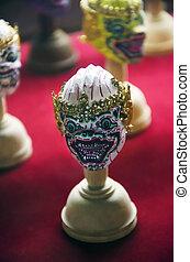 ramayana head masks