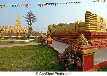 Vientiane, Laos - Pha That Luang, Vientiane, Laos