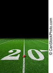 Football field background - American football field...