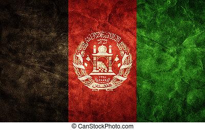 Afghanistan,  Grunge, Fahne, Weinlese, Posten, Flaggen,  retro, Sammlung, mein