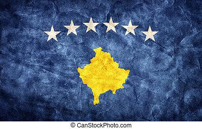 Grunge,  kosovo, Fahne, Weinlese, Posten, Flaggen,  retro, Sammlung, mein