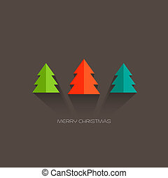Merry Christmas card - Vector illustration Merry Christmas...