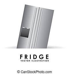 fridge design  - fridge graphic design , vector illustration