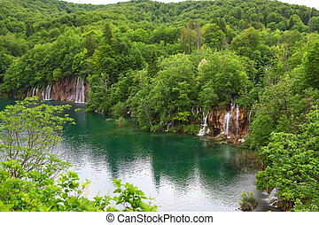Plitvice Lakes National Park , Croatia