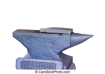 Anvil on a white background