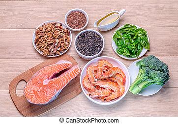 Plant-based, animal, fuentes, Omega-3, ácidos