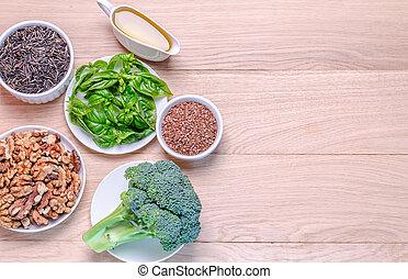 Plant-based, fuentes, Omega-3, ácidos