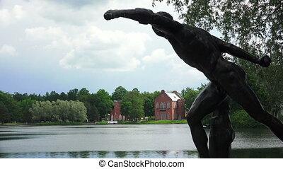 Admiralty. Pushkin. Catherine Park. Tsarskoye Selo. 4K. -...