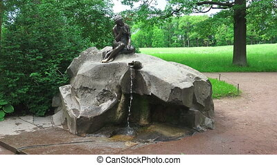 Fountain Girl with a jug. Pushkin. Catherine Park. Tsarskoye...