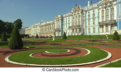 Catherine Palace Pushkin Catherine Park Tsarskoye Selo 4K -...