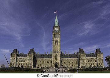 Parliament buildings - centre block