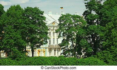 Catherine Palace Pushkin Catherine Park Tsarskoye Selo The...