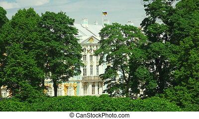 Catherine Palace Pushkin Catherine Park Tsarskoye Selo The...