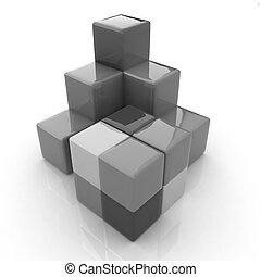colorful block diagram